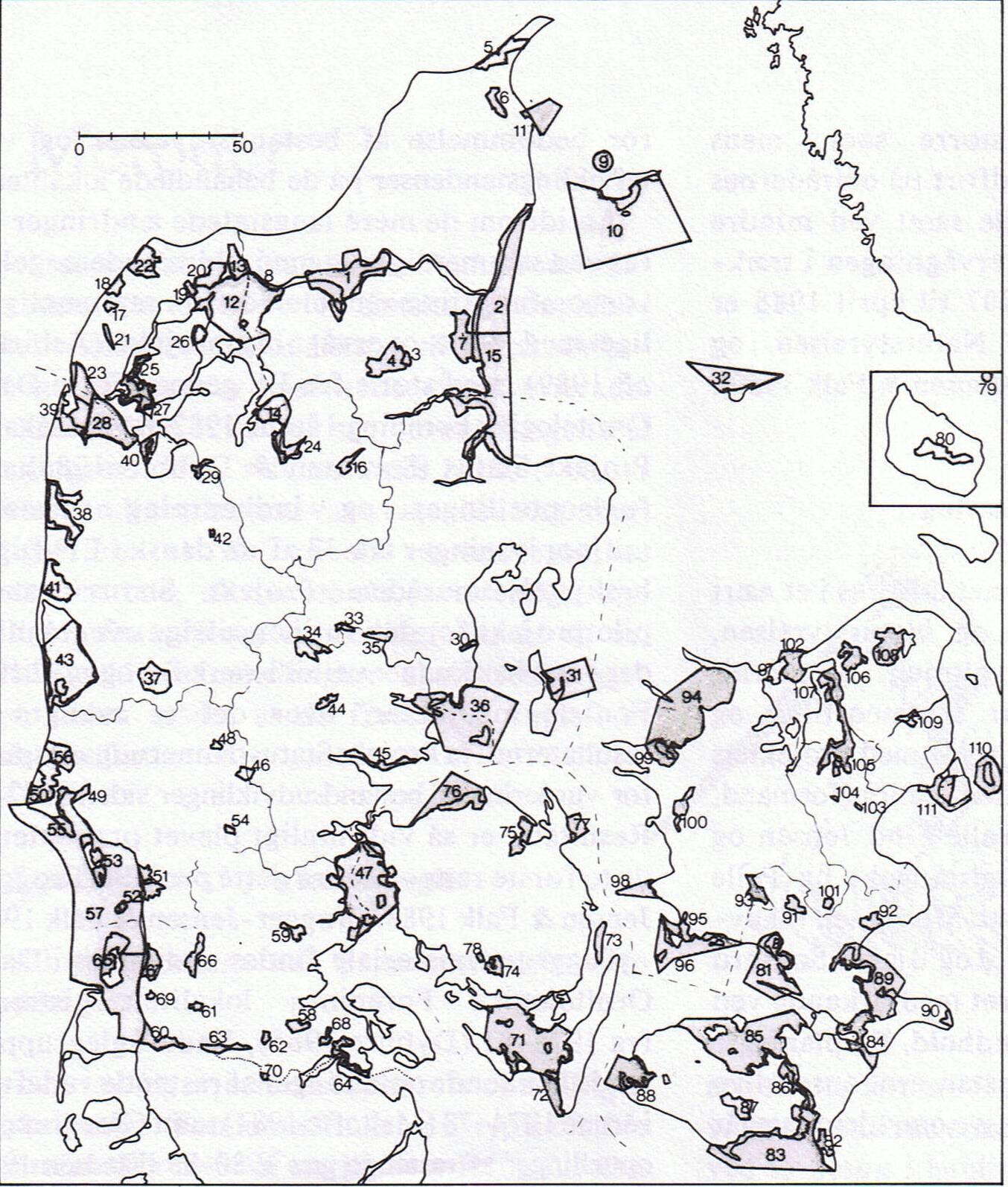 Danmarks 111 EF-fuglebeskyttelsesområder. Mosen nr.91