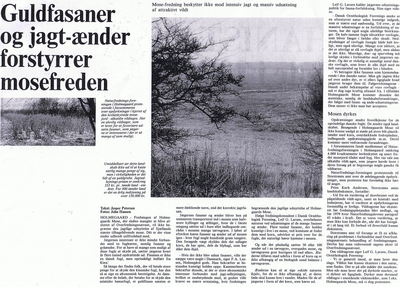 Næstved Tidende 23. november 1985