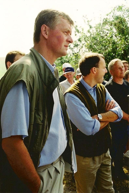 Herremænd til fredningsmøde 4. september 2002