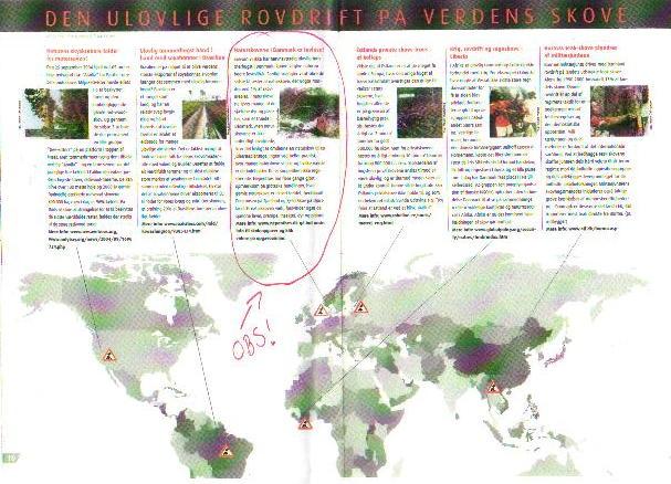 DK på skov-ødelæggernes verdenskort